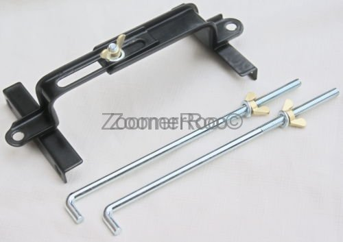 Zoomerroo Battery Tray Amp Hold Down Clamp Kit
